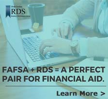 FAFSA + RDS = A Perfect Pair for Financial Aid